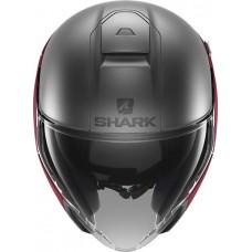 Шлем SHARK CITYCRUISER DUAL BLANK Mat Red Anthracite