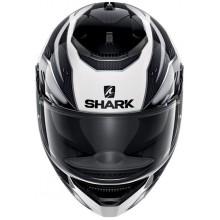 Шлем Shark Spartan Antheon White Silver Black
