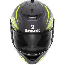 Шлем SHARK SPARTAN ANTHEON MAT Anthracite Yellow Black