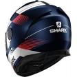 Шлем SHARK SPARTAN STRAD Mat Blue White Red