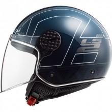 Шлем LS2 OF558 SPHERE LUX LINUS COBALT