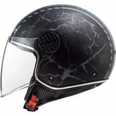 Шлем LS2 OF558 SPHERE LUX SNAKE BL. MATT TITAN