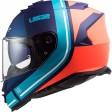 Шлем LS2 FF800 STORM SLANT MATT BLUE ORANGE