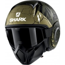 Шлем SHARK STREET DRAK CROWER Mat Green Black Green