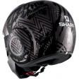 Шлем SHARK STREET DRAK CROWER Mat Black Anthracite Silver