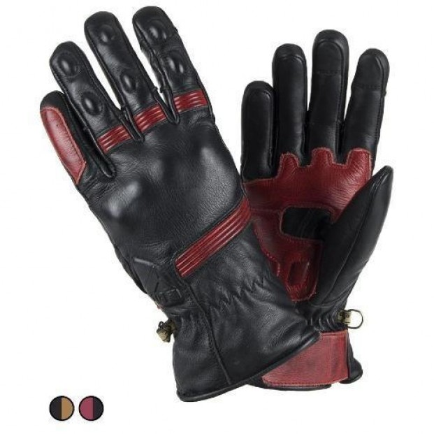 Перчатки FUEL BLACK/RED